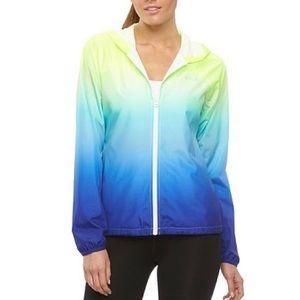 Fila Sport Hooded Ombré Windbreaker Jacket XS